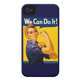 Rosie the Riveter We Can Do It Vintage Case-Mate iPhone 4 Case