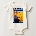 Rosie the Riveter We Can Do It Vintage Creeper