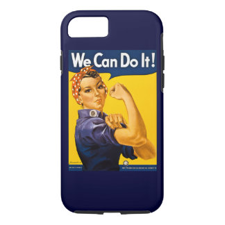 Rosie the Riveter We Can Do It Vintage iPhone 8/7 Case