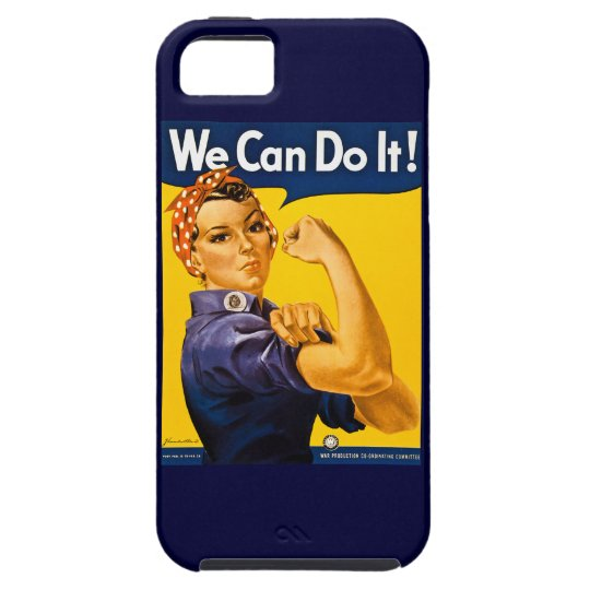Rosie the Riveter We Can Do It Vintage iPhone SE/5/5s Case