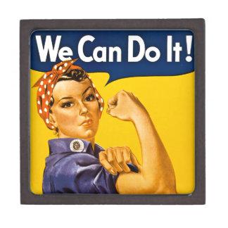 Rosie the Riveter We Can Do It Vintage Keepsake Box