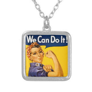 Rosie the Riveter We Can Do It Vintage Jewelry