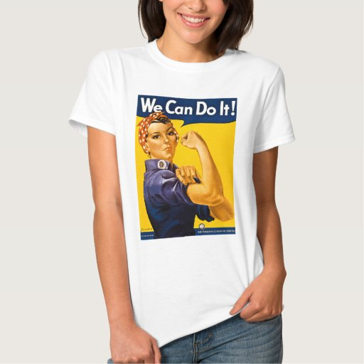 Rosie the Riveter We Can Do It T-shirt