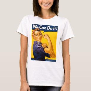 4f3c512f Rosie The Riveter T-Shirts - T-Shirt Design & Printing | Zazzle