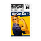 Rosie the Riveter We Can Do It! Vintage WWII Postage