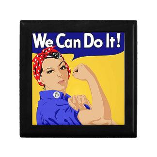 "Rosie the Riveter ""We Can Do It"" World War II Keepsake Box"