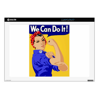 "Rosie the Riveter ""We Can Do It"" World War II Skins For Laptops"