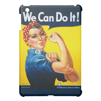 Rosie the Riveter We Can Do It World War Two iPad Mini Covers