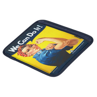 Rosie the Riveter We Can Do It World War Two iPad Sleeves