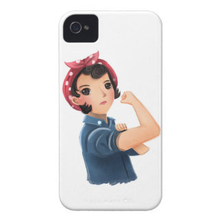 rosie the riveter women we can do it! WWII iPhone 4 Cover