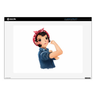 rosie the riveter women we can do it! WWII Skin For Laptop