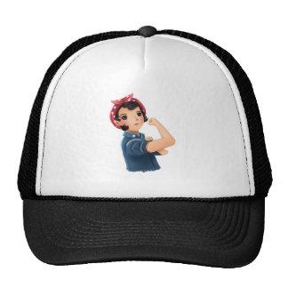 rosie the riveter women we can do it! WWII Trucker Hat