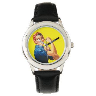 Rosie the Riveter Wristwatch