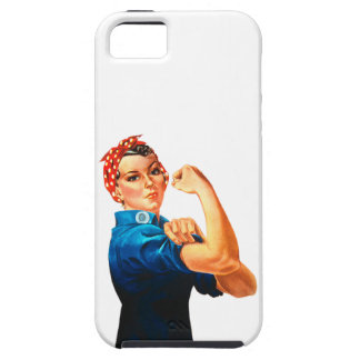 Rosie The Riveter WWII Poster iPhone SE/5/5s Case