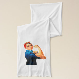 Rosie The Riveter WWII Poster Scarf