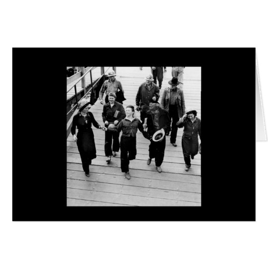 Rosie the Riveters on the Boardwalk Card