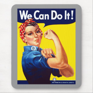 Rosie The Rivetor Mouse Pad
