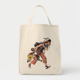 Rosie to the Rescue Canvas Bag
