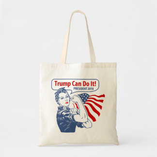 Rosie Trump Can Do It Tote Bag