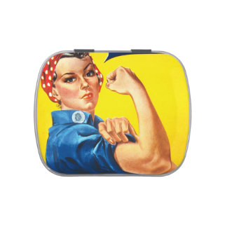 Rosie Vintage we can do it! Jelly Belly Tin