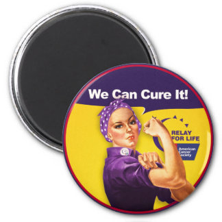 "Rosie ""We Can Cure it!"" Magnet"