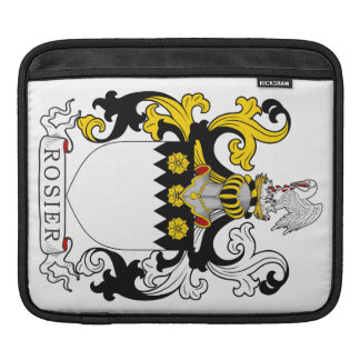 Rosier Coat of Arms (English) Sleeve For iPads