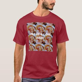 rosiferous, PEACE & LOVEBABY T-Shirt