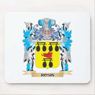 Rosin Coat of Arms - Family Crest Mouse Pads