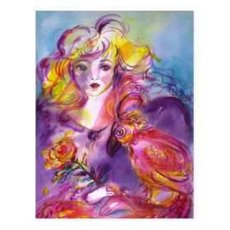 ROSINA / Venetian Masquerade Ball Postcard