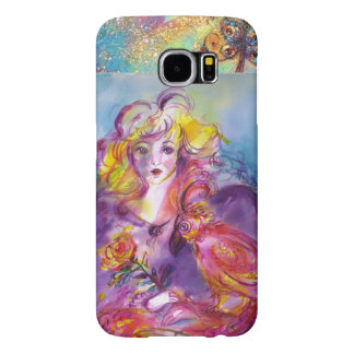 ROSINA /Young Girl with Rose and Parrot Samsung Galaxy S6 Case