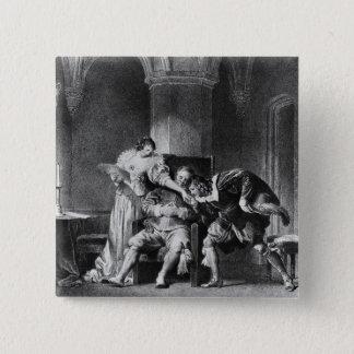Rosine, Bartholo, Count Almaviva Button