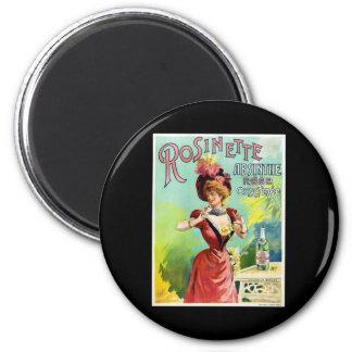 Rosinette Absinthe 2 Inch Round Magnet