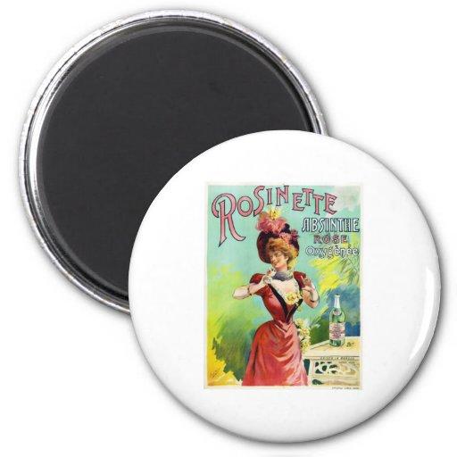 Rosinette Absinthe Fridge Magnets