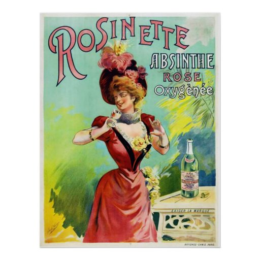 Rosinette Absinthe Poster