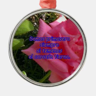 rosita2 copy metal ornament