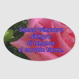 rosita2 copy oval sticker