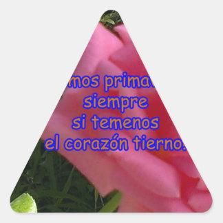 rosita2 copy triangle sticker