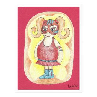 Rosita Corazón Sangrante Post Cards
