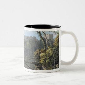Roslin Castle, Midlothian (w/c and gouache on pape Coffee Mugs