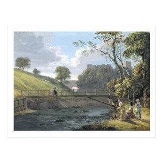 Roslin Castle, Midlothian (w/c and gouache on pape Postcard