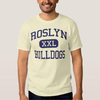 Roslyn - dogos - alto - alturas Nueva York de Remera