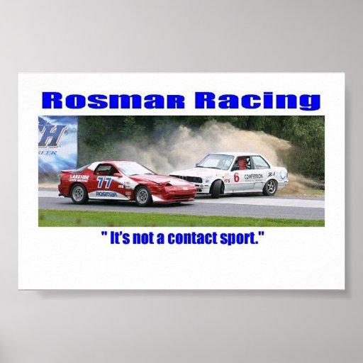 Rosmar Racing Poster