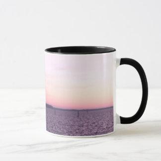 Ross Barnett Reservoir - Pink Sunrise Over Water Mug