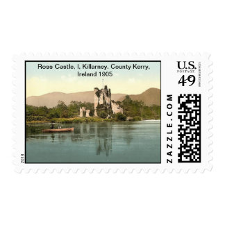 Ross Castle, I, Killarney. County Kerry, Ireland Postage