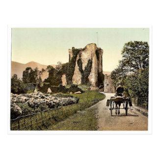 Ross Castle, II. Killarney. Co. Kerry, Ireland rar Postcard
