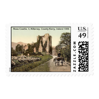 Ross Castle, II, Killarney. County Kerry, Ireland Postage