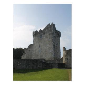 Ross Castle, Killarney, Ireland Postcard