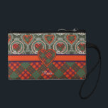 "Ross clan Plaid Scottish tartan Coin Wallet<br><div class=""desc"">A lovely design based on the real Scottish tartan</div>"