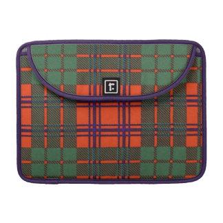 Ross clan Plaid Scottish tartan Sleeves For MacBooks