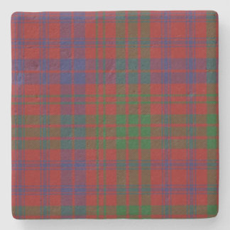 Ross Clan Tartan Plaid Stone Coaster